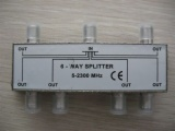 6 Way Splitter AD-3022