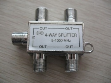 4 Way Splitter 5-1000mhz AD-3040