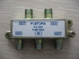 4 Way Splitter 5-890mhz AD-3009