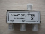 3 Way Splitter 5-1000mhz/5-2050mhz AD-3019