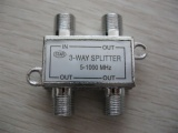 3 Way Splitter 5-1000mhz AD-3039
