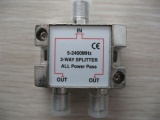 2 Way Splitter 5-1000mhz/5-2500mhz AD-3024