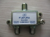 2 Way Splitter 5-890mhz AD-3007