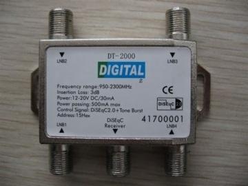 Diseqc Satellite Switch 4 in 1 AD-3027