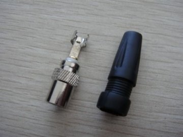 PAL Male,With Screw,Solderless Type,With Plastic Cap