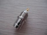 BNC Female Bulkhead for RG58, RG59 cable AD-0067